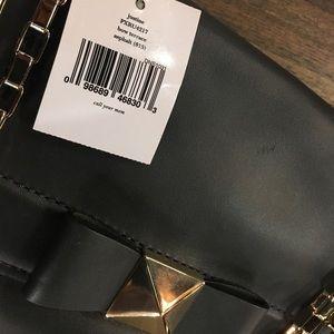 kate spade Bags - Kate Spade Bow Terrace Justine Gray Gold Bag